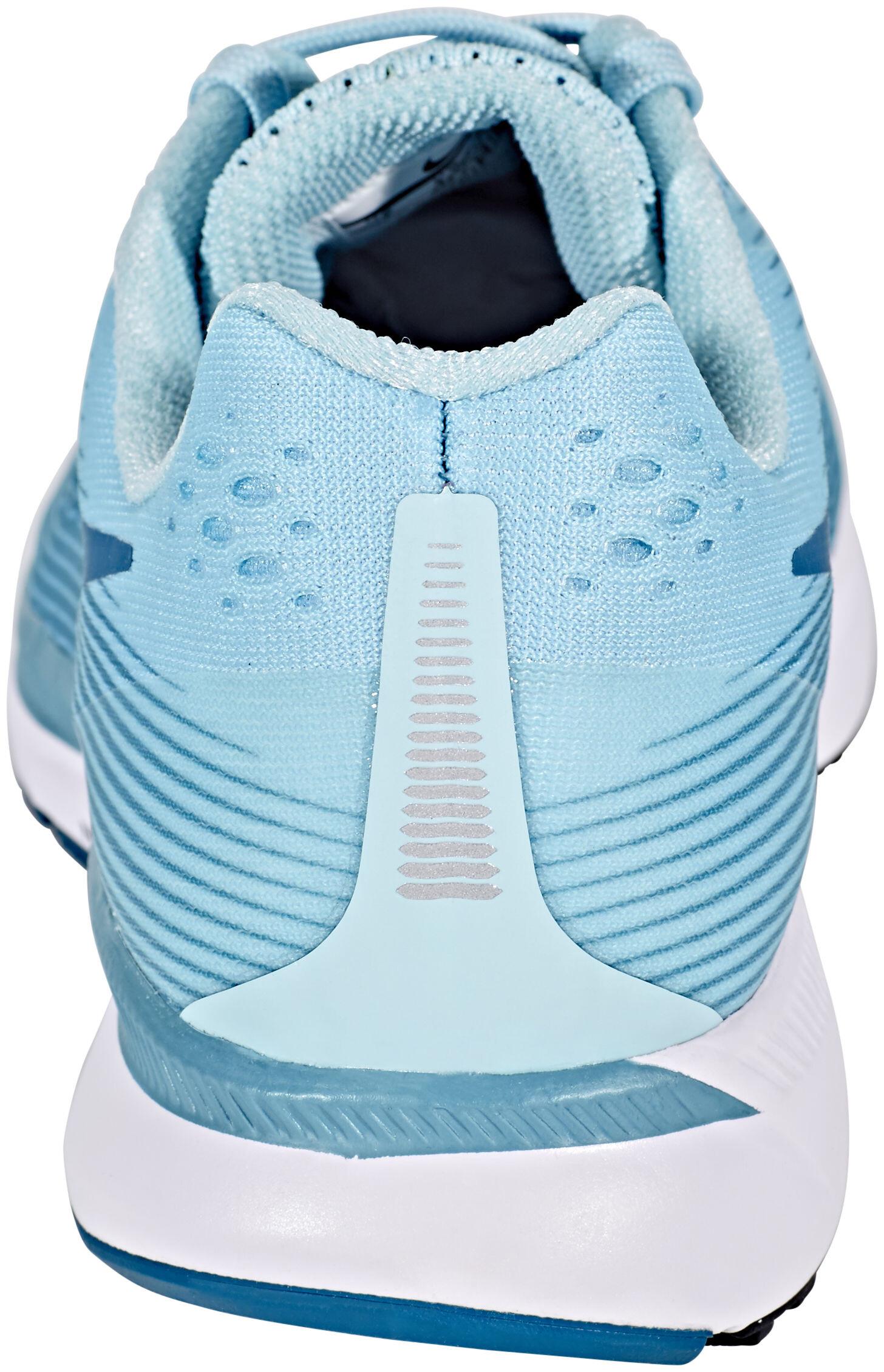 nike air zoom pegasus 34 running shoes women blue at